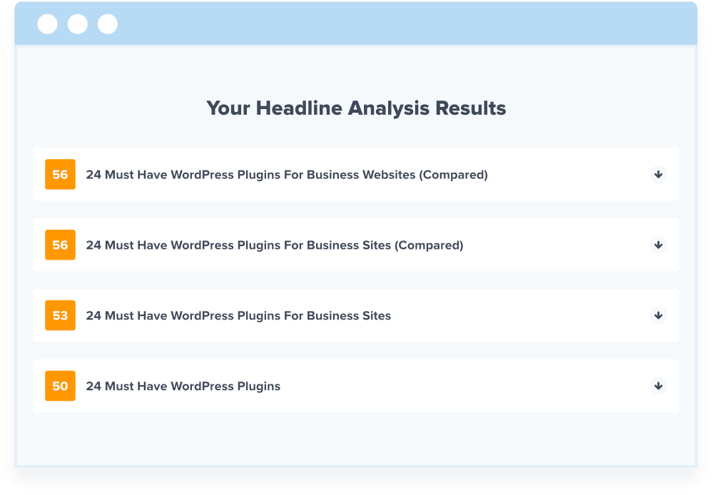 Create & Test Multiple Different Headlines to Find the Best One