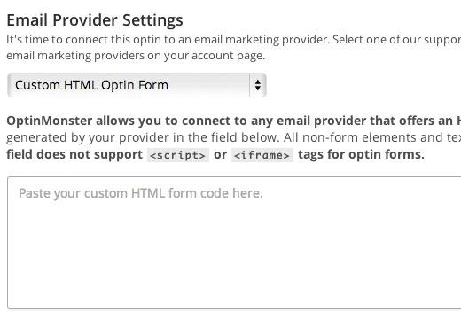 Custom HTML Form Input Field