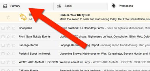 Gmail Whitelist