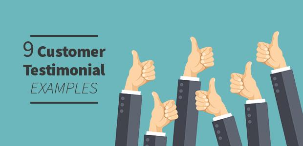 Customer Testimonial Examples