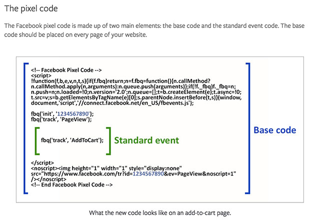 You'll want to add the Facebook Pixel Base Code to all pages of your website according to Facebook's documentation.