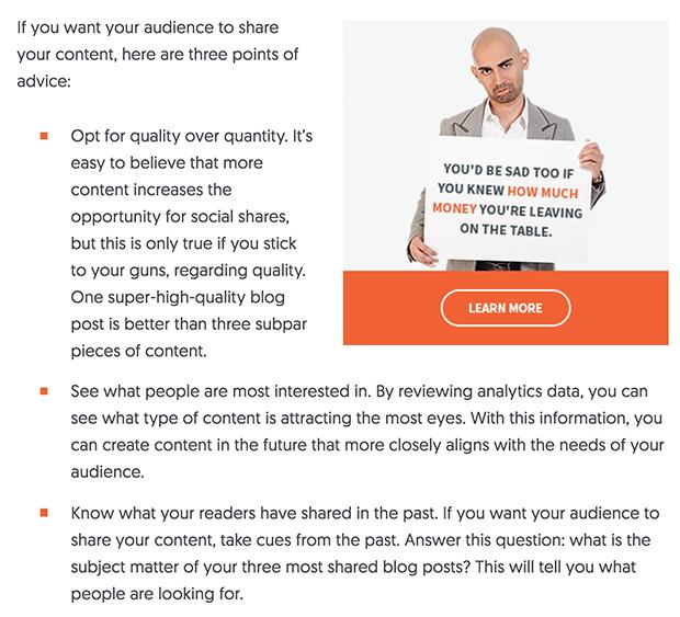 Neil Patel Blog Ad