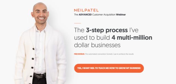 Neil Patel's homepage