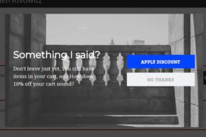 Scott Wyden Exit Intent Campaign