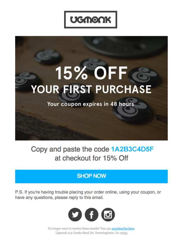 Your-15-Off-Coupon-ugmonk