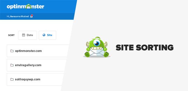 Site Sorting