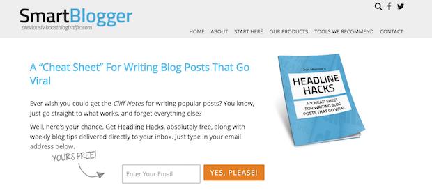 smartblogger feature box
