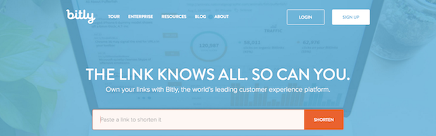 social media marketing tools - bitly