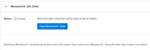 OpitnMonster MonsterLinks Rule