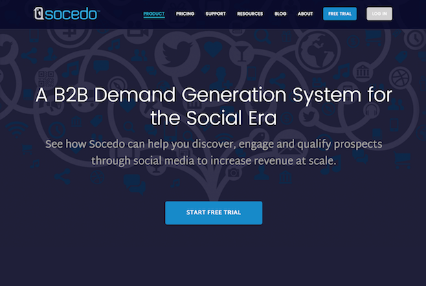 best social media marketing tools - socedo