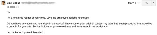pre-outreach-email