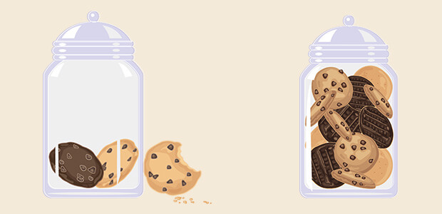 cookie jars scarcity marketing example