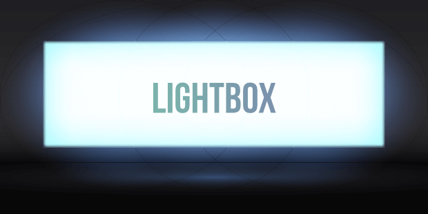 lightbox sign