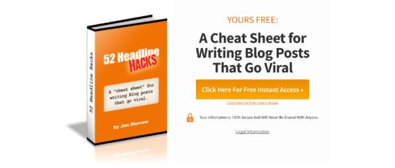 Writing an ebook -headline hacks