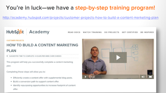 hubspot training cta