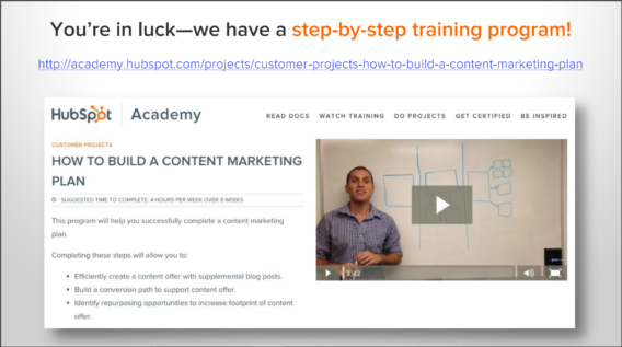 hubspot webinar pitch