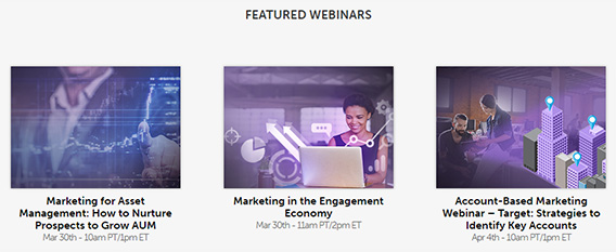 marketo webinar marketing strategy