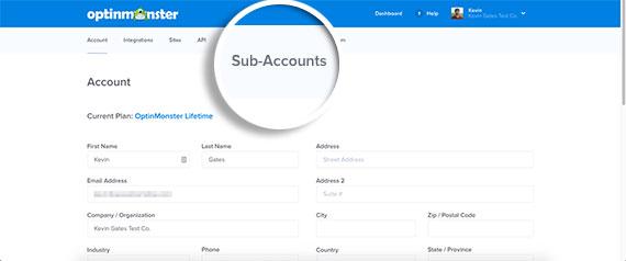 Click-Sub-Accounts