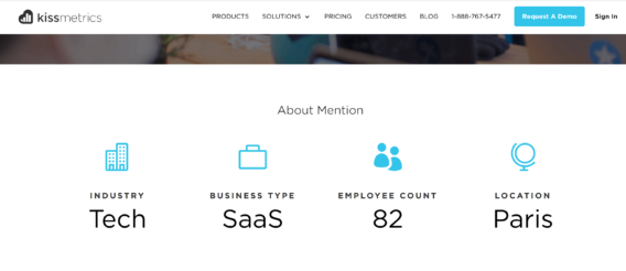 business case study examples kissmetrics