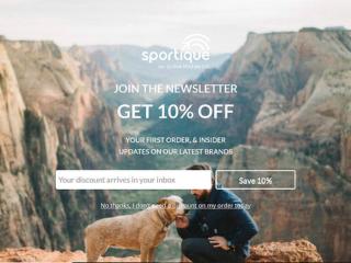 Sportique Fullscreen