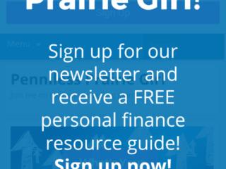 Penniless Prairie Girl Mobile Optin