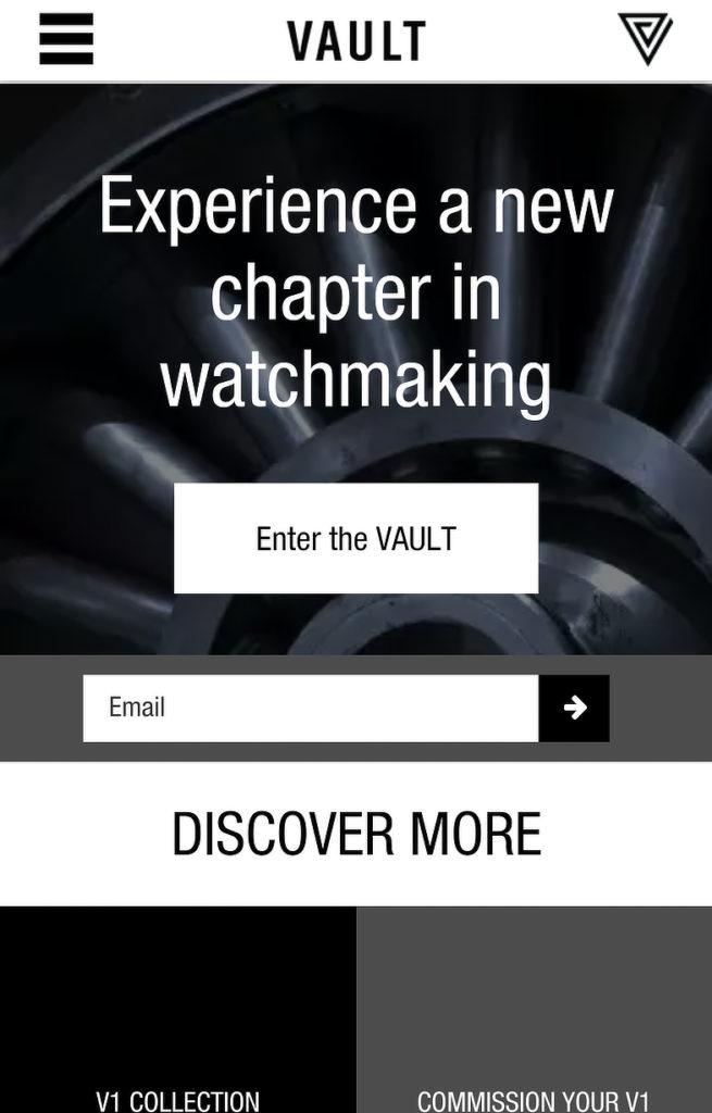 Vault Mobile Optin
