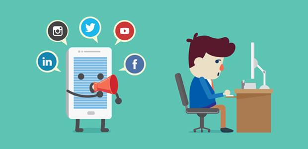 spammy social media marketing