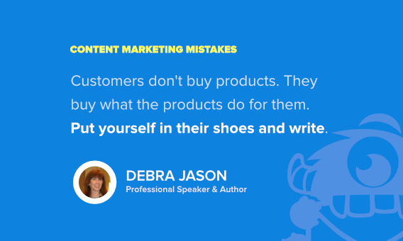 debra jason marketing mistakes