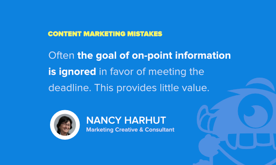 nancy harhut content marketing