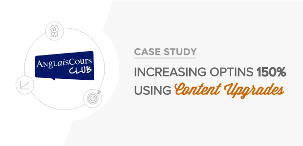 AnglaisCours uses OptinMonster to increase conversions with content upgrades