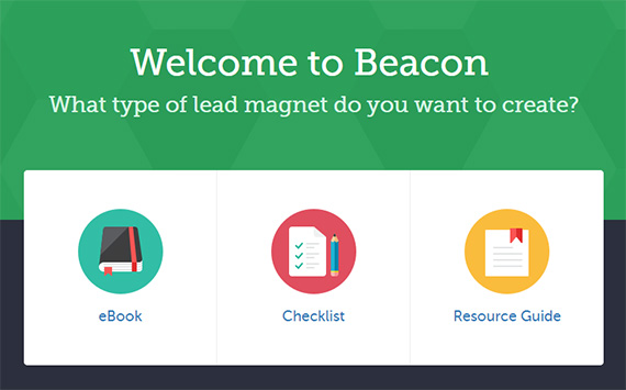 create an ebook with beacon