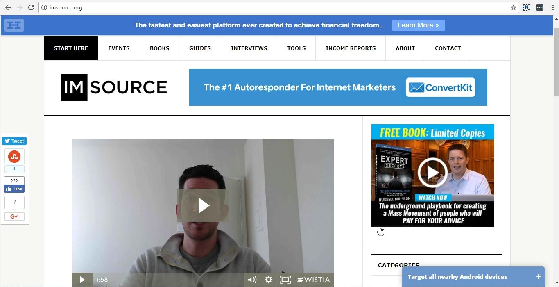 IMSource uses OptinMonster