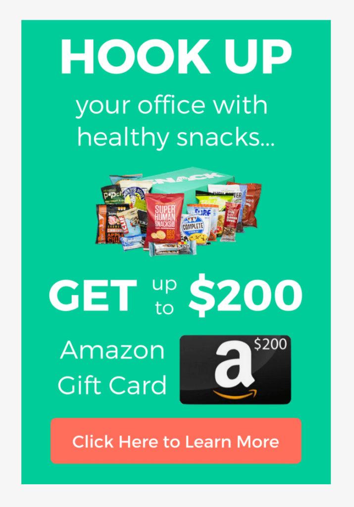 SnackNation Sidebar Campaign