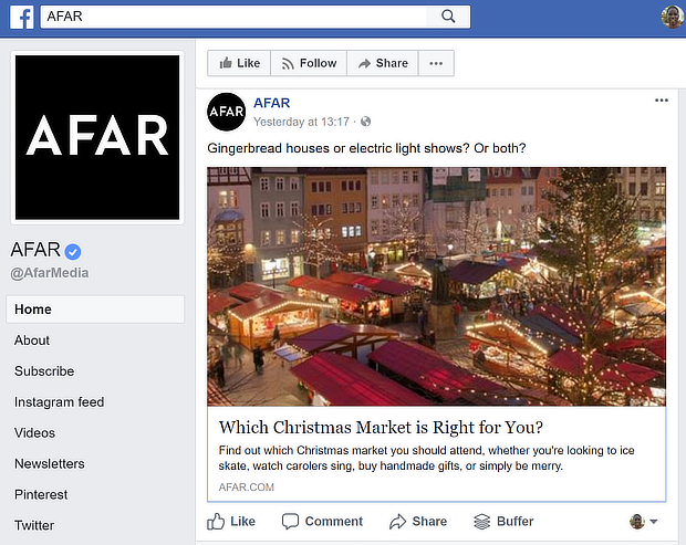 afar quiz on facebook