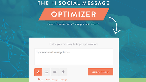 coschedule score facebook message
