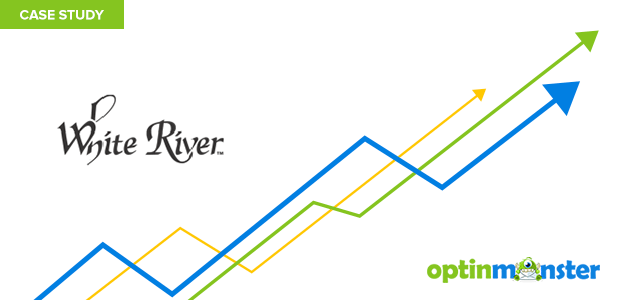 White River uses OptinMonster's mobile phone popups