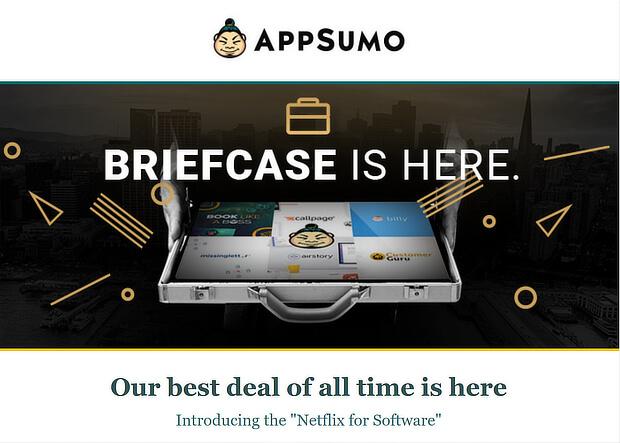 appsumo upselling example