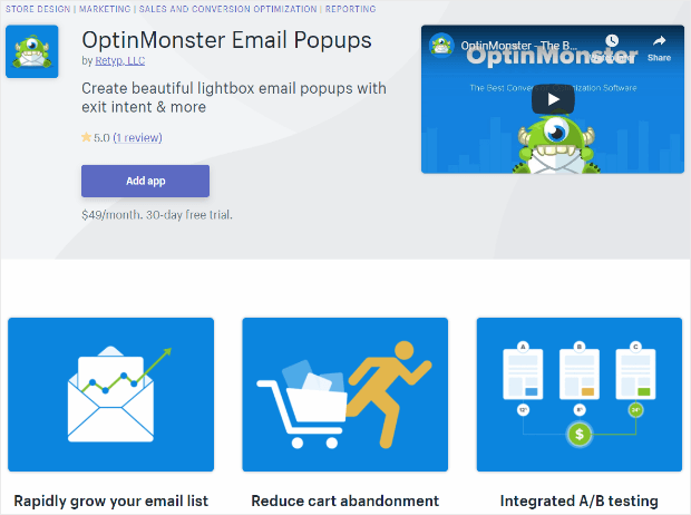 best shopify apps optinmonster