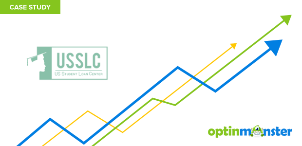 USSLC used OptinMonster to increase monthly sales 10 percent