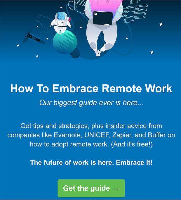 email newsletter design tips - trello example