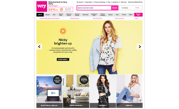 examples of personalized marketing - shopdirect summer