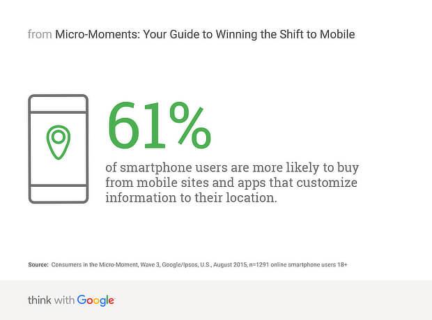 geo targeting mobile - google stats