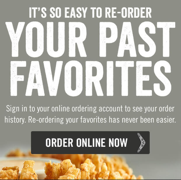 outback email newsletter example 2