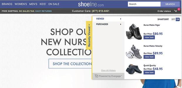 shoeline purchase reminder