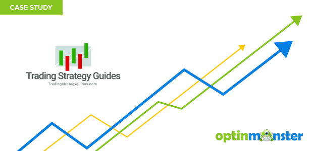 TradingStrategyGuides used OptinMonsters content locking script to add nearly 11000 subscribers