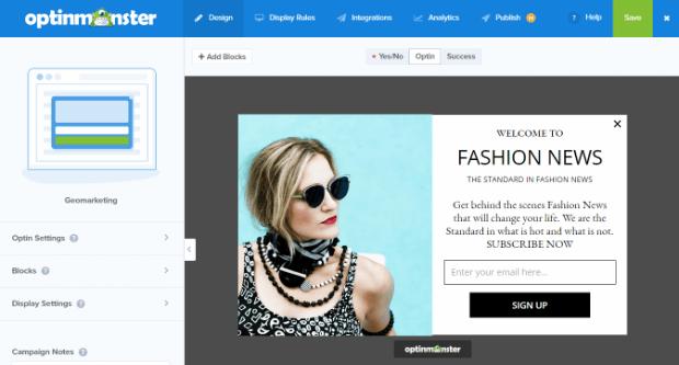 om default fashion campaign