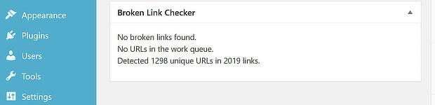 broken link checker wp