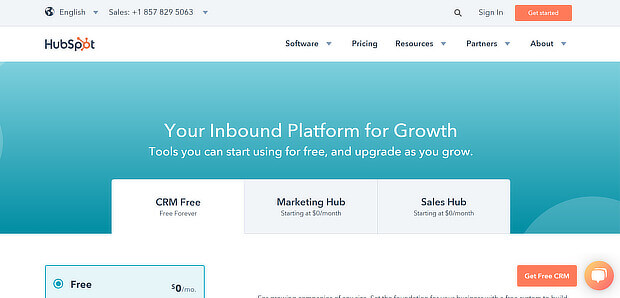 free growth tools from hubspot