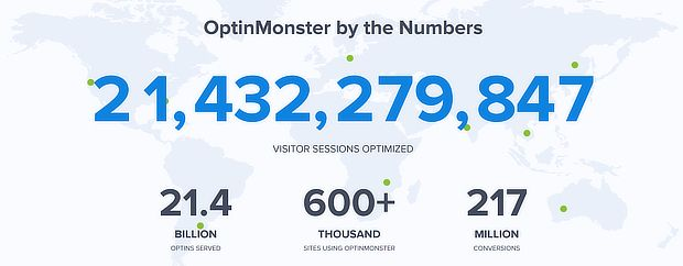 om numbers show social proof