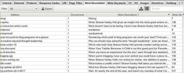 sf meta description sort 2